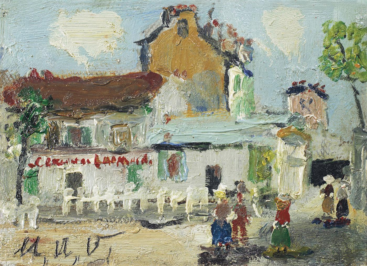Maurice Utrillo-Le Lapin Agile A Montmartre-1940