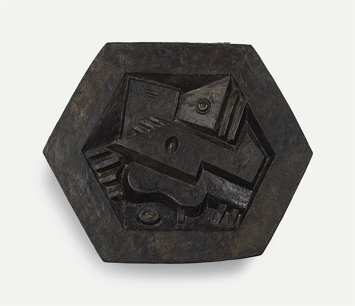 Jacques Lipchitz-Musical Instruments (Hexagonal Shape) I-1923