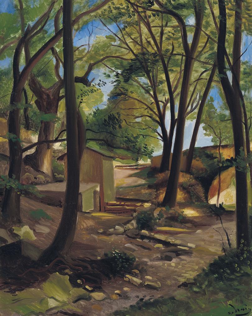 Andre Derain-La Fontaine Dollieres-1930