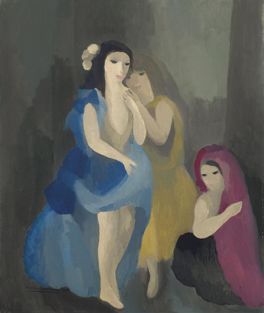 Marie Laurencin-Les Gitanes-1926