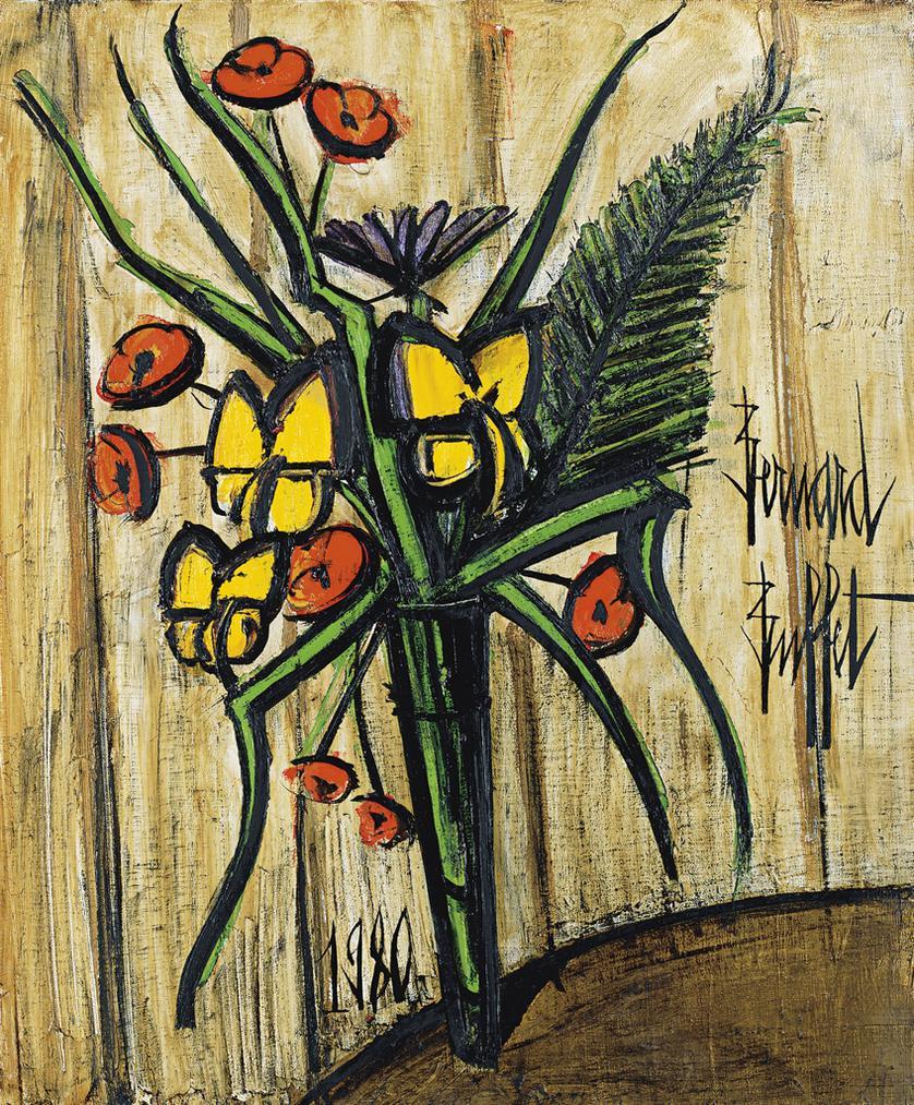 Bernard Buffet-Bouquet-1980