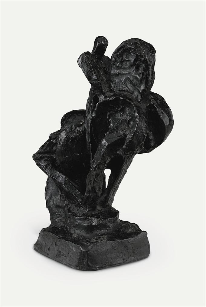 Raymond Duchamp-Villon - Cheval Et Cavalier, Second Etat, Dit Le Cavalier Droit-1914
