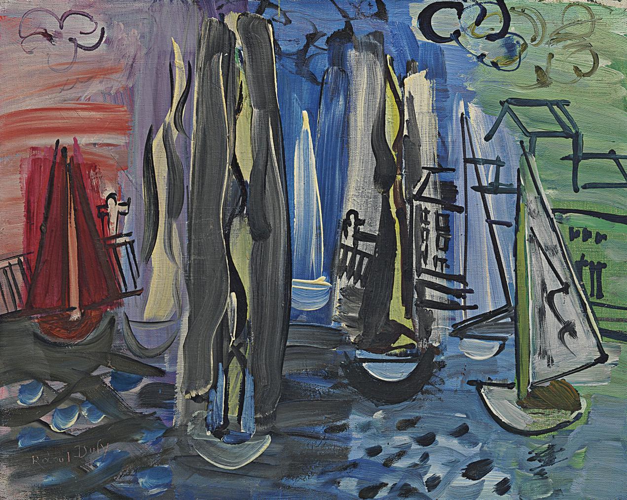 Raoul Dufy-Les Regates-1935