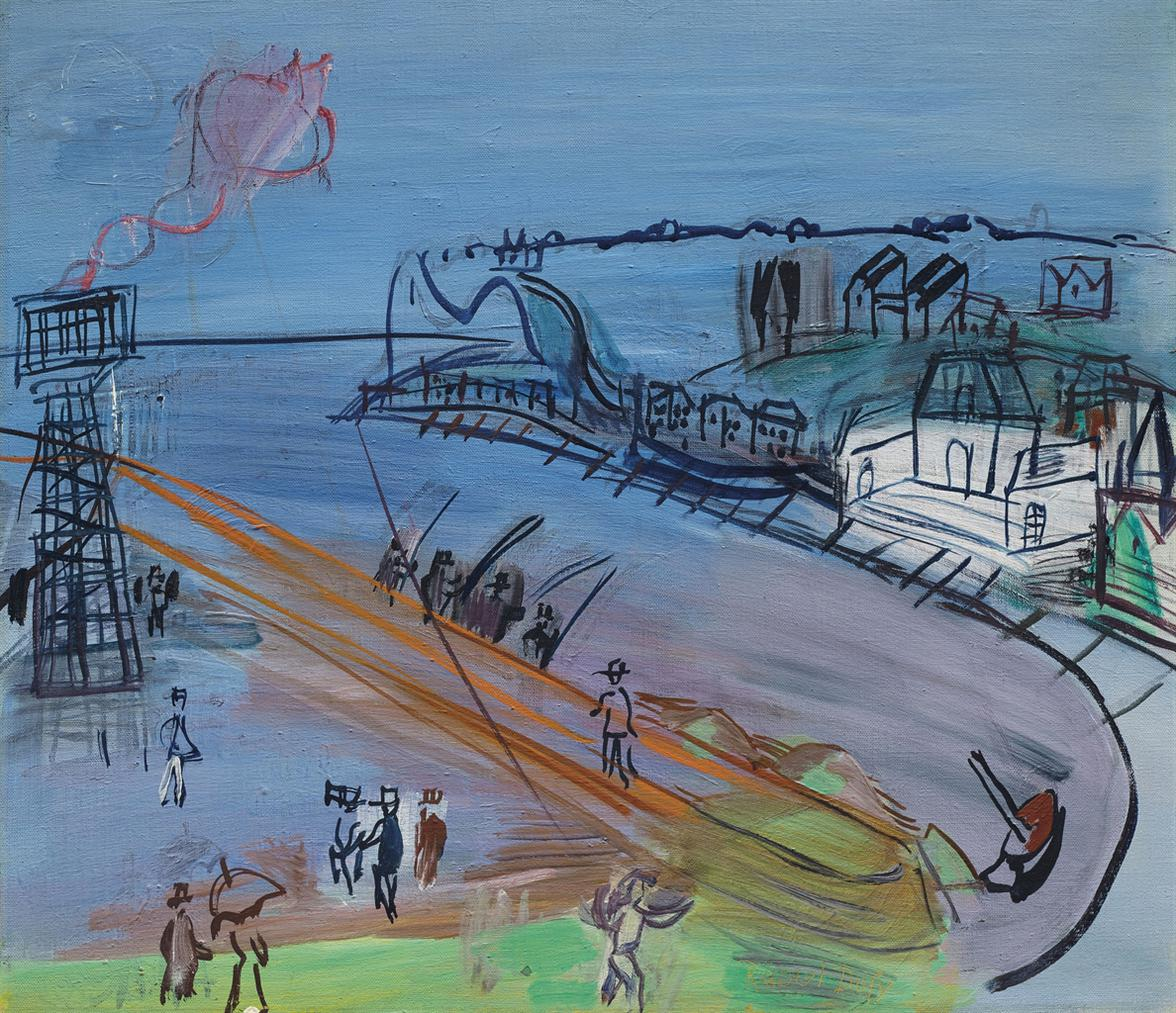 Raoul Dufy-Lentree Du Port De Sainte-Adresse-1950