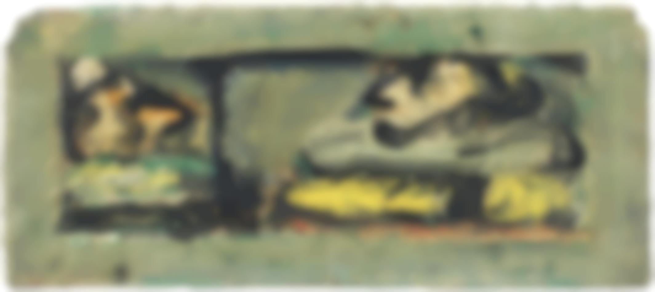 Georges Rouault-Clown Et Polichinelle-1948
