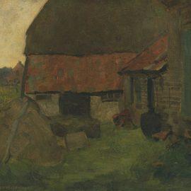 Piet Mondrian-Boerenerf In De Achterhoek-1899