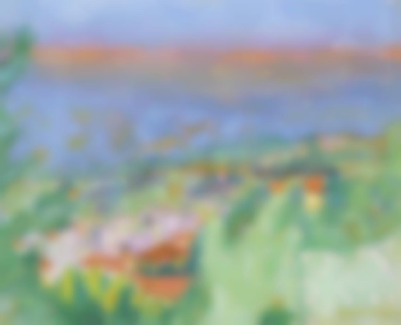 Pierre Bonnard-Paysage Du Cannet-1940