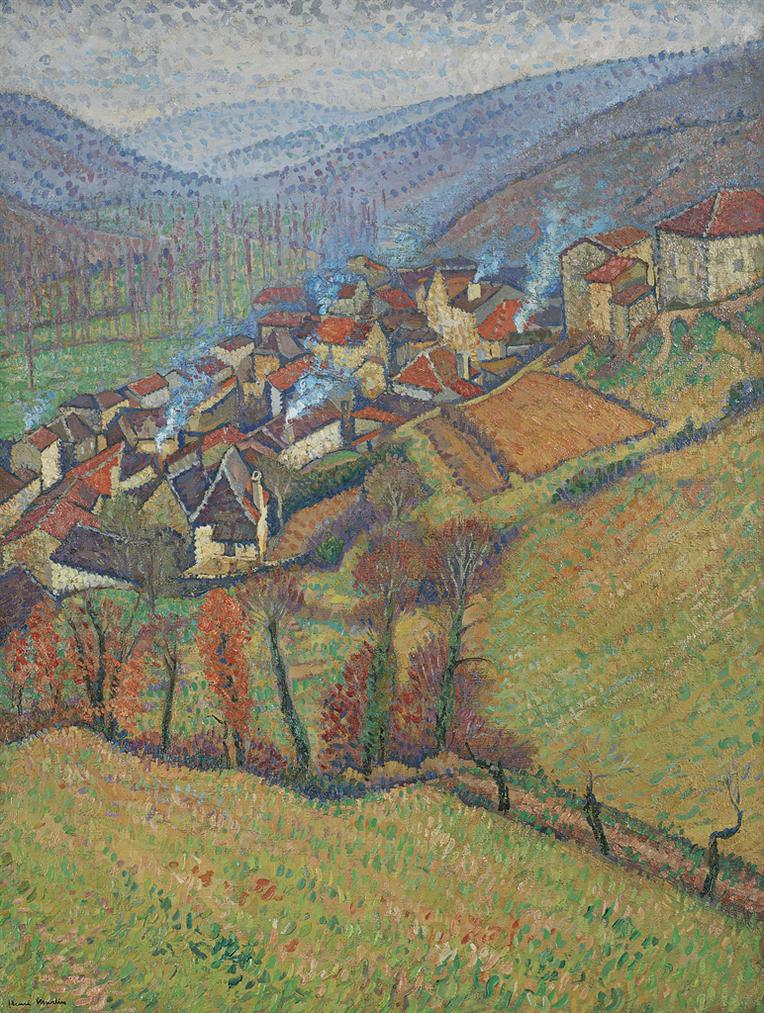 Henri Martin-La Bastide Du Vert Vu Den Haut-