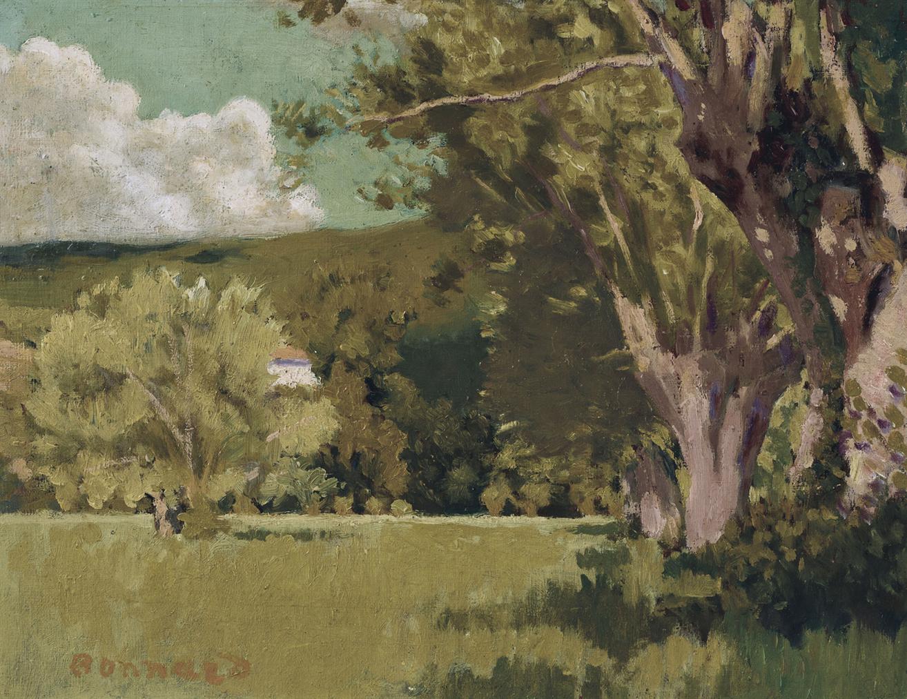 Pierre Bonnard-Paysage Du Dauphine-