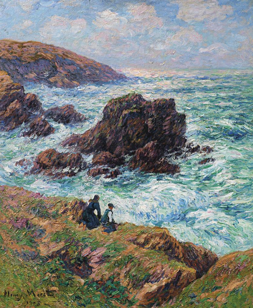 Henry Moret-Cote De Clohars, Finistere-1908