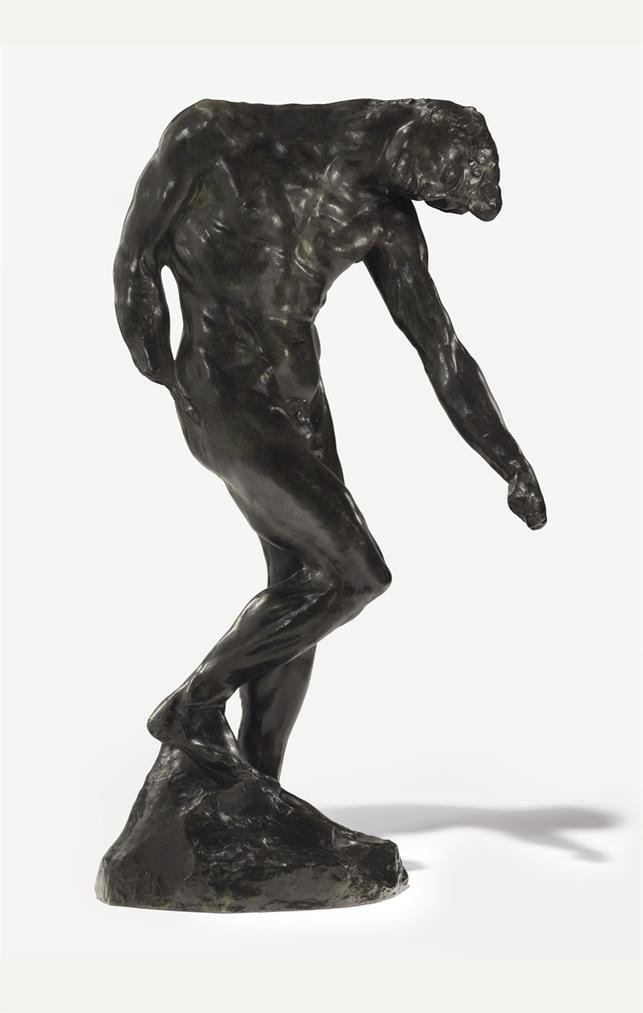 Auguste Rodin-Lombre, Taille Originale Dite Taille De La Porte-1880