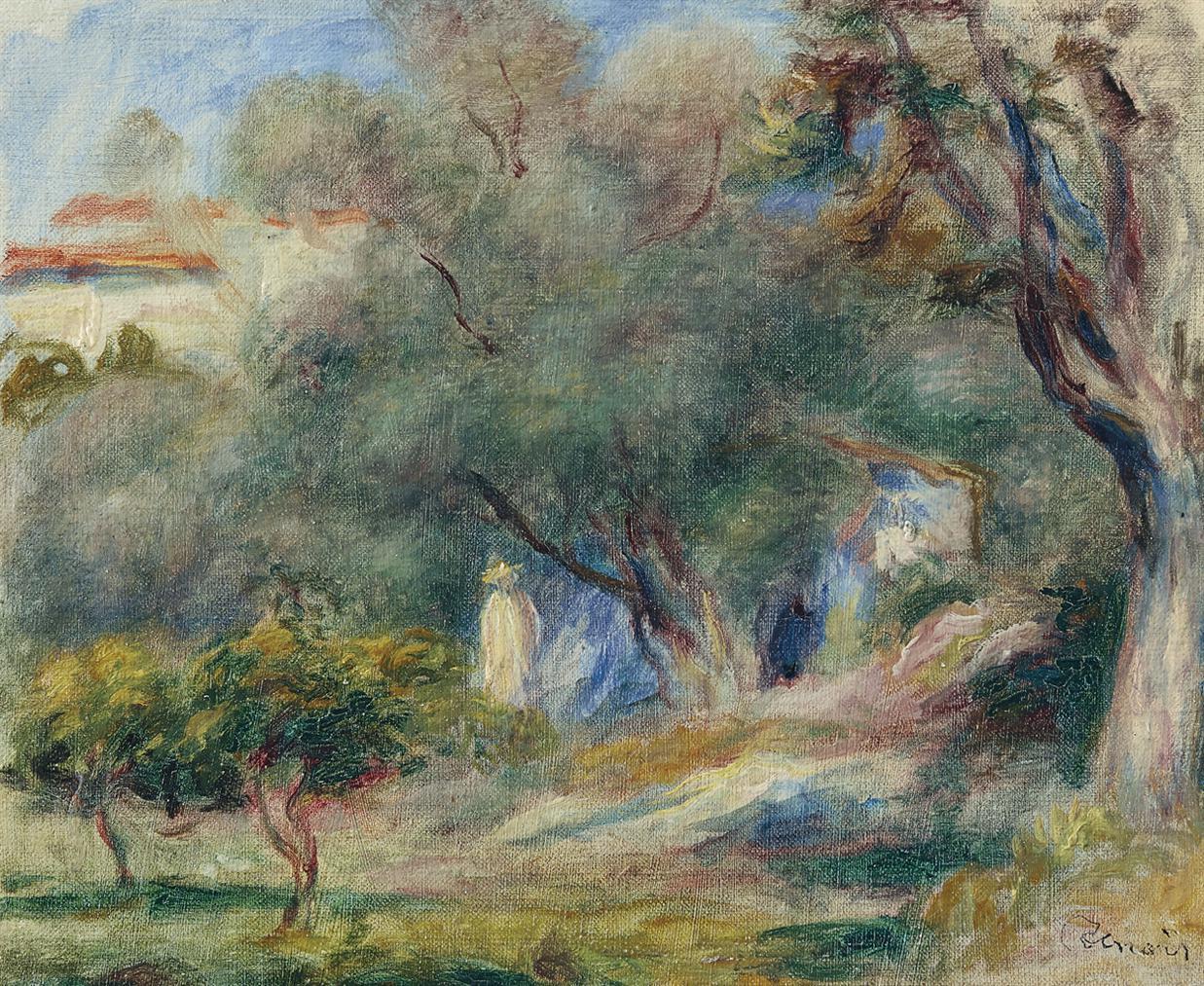 Pierre-Auguste Renoir-Paysage-1905