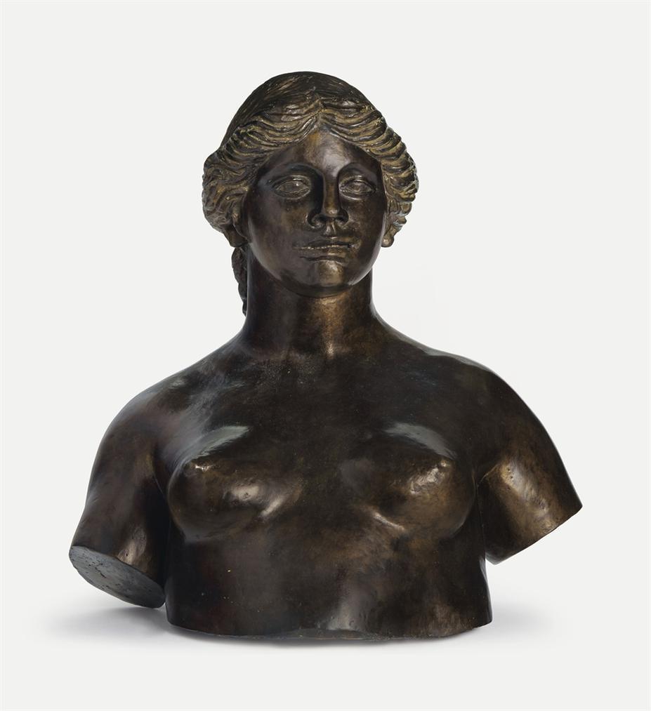 Pierre-Auguste Renoir-Buste De Venus-1915