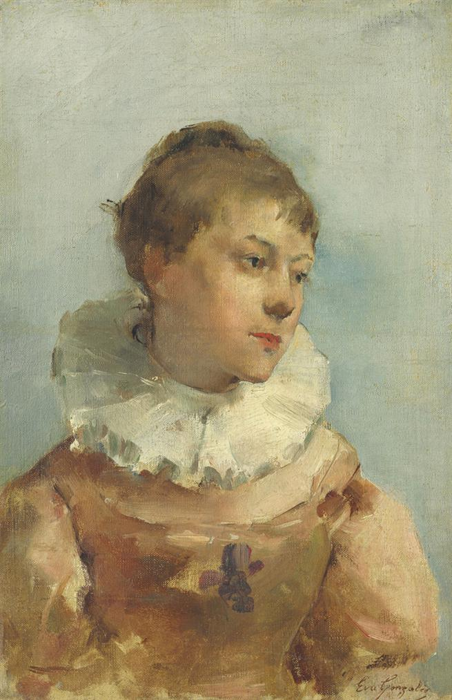 Eva Gonzales-Portrait-1880