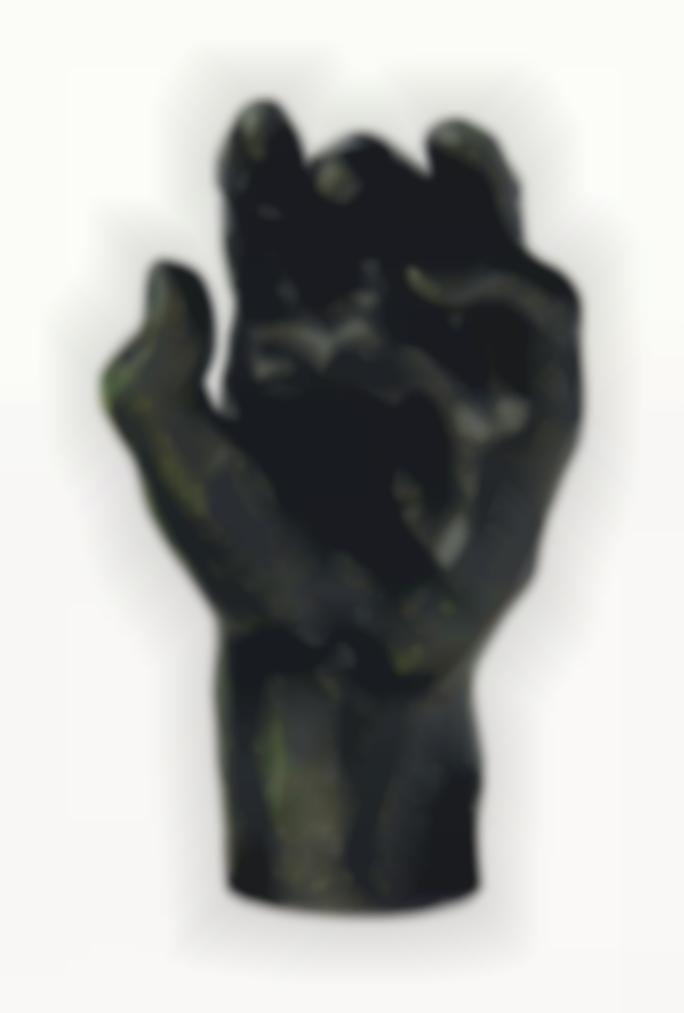 Auguste Rodin-Etude De Main Gauche Dite Main No 37-1900