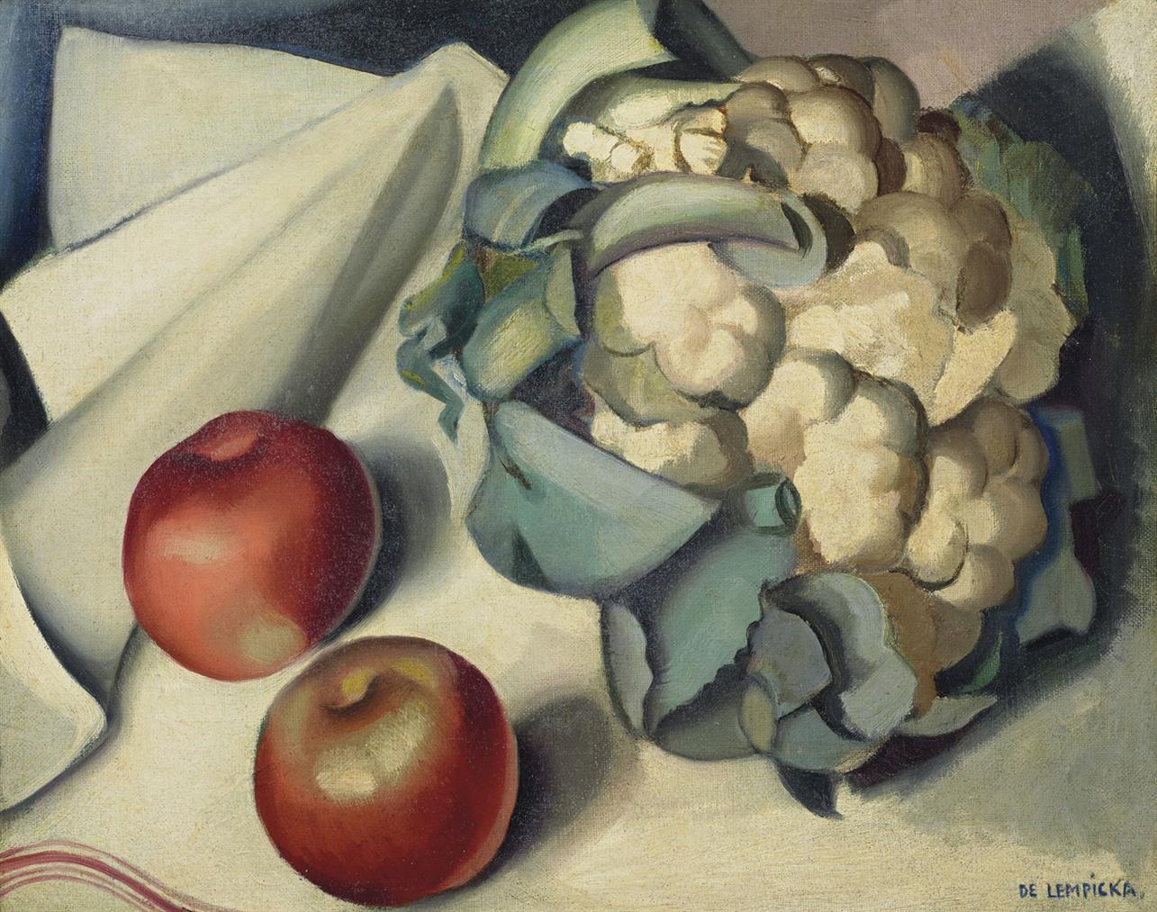 Tamara de Lempicka-Nature Morte Au Chou-Fleur-1925