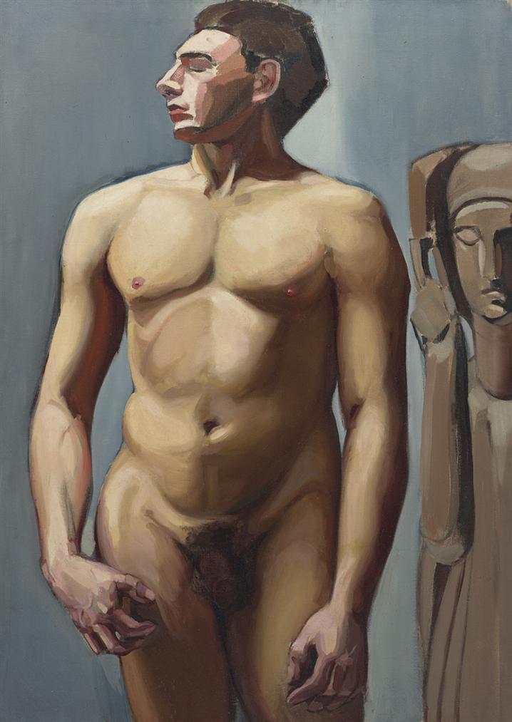 Tamara de Lempicka-Nu Masculin-1924