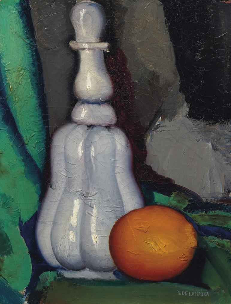 Tamara de Lempicka-La Carafe Louis-Philippe-1923