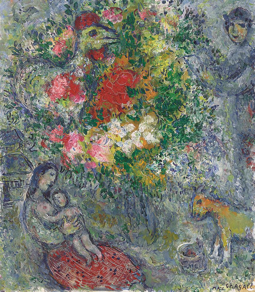 Marc Chagall-Lete-1977