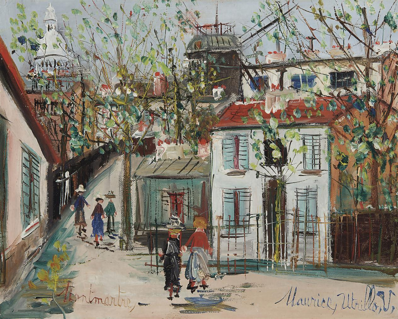 Maurice Utrillo-Maquis A Montmartre-1939