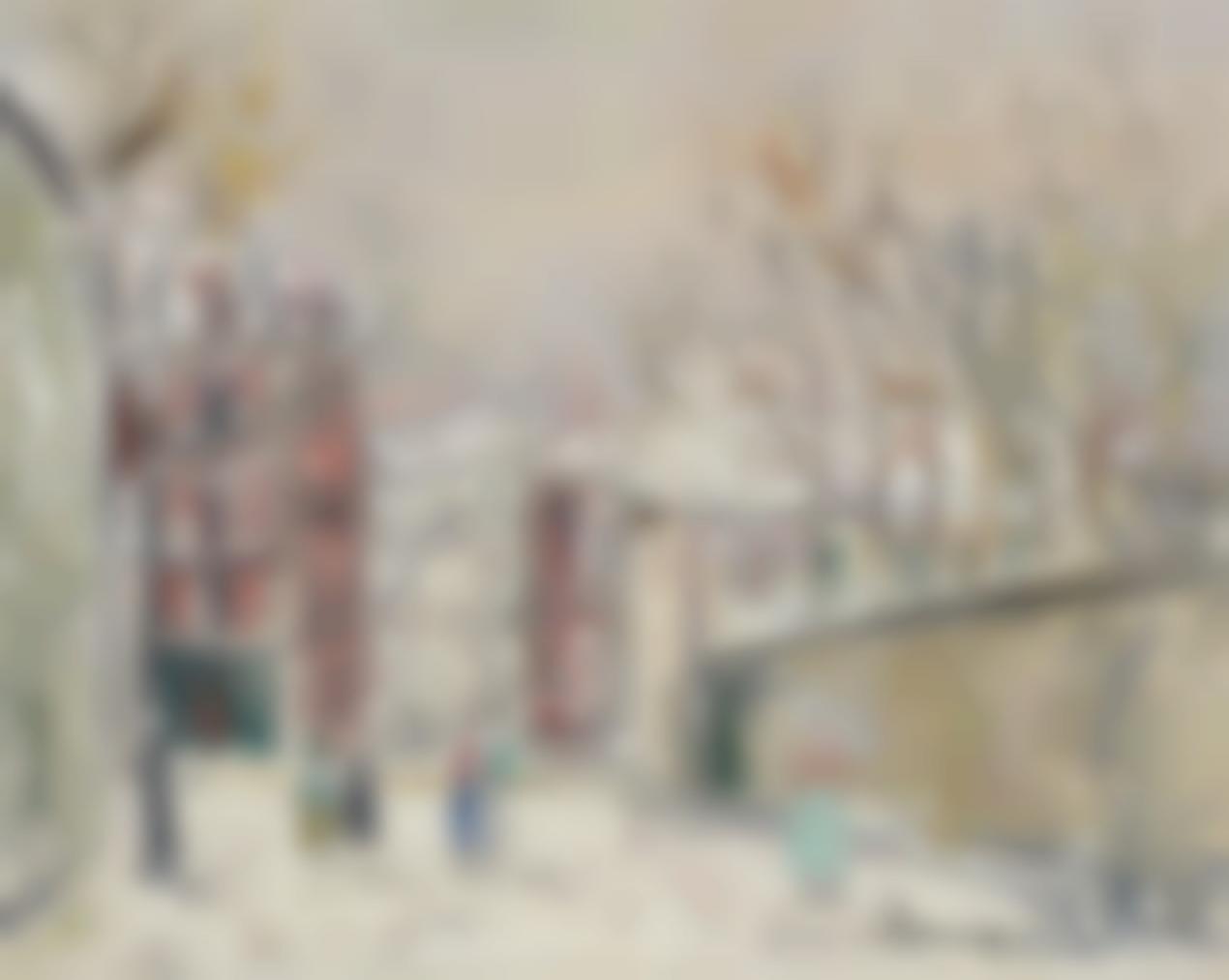 Maurice Utrillo-Rue De Mont-Cenis Sous La Neige-1940
