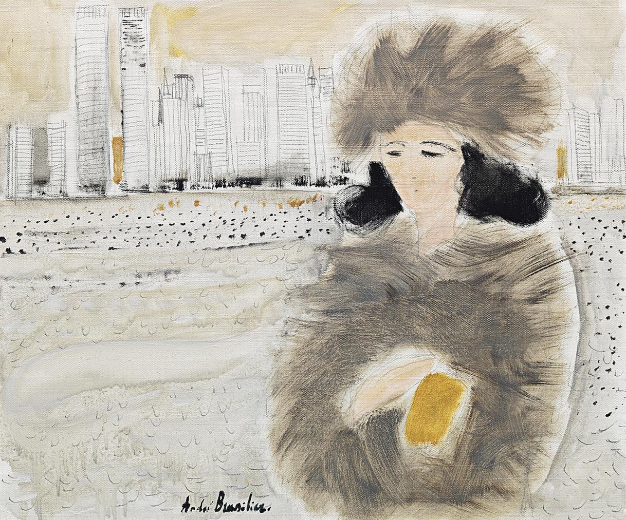 Andre Brasilier-Chantal A New York-1977