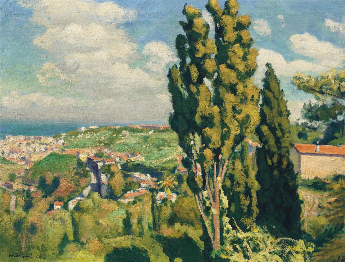 Albert Marquet-Le Cypres De Djenan Sidi Said-1946
