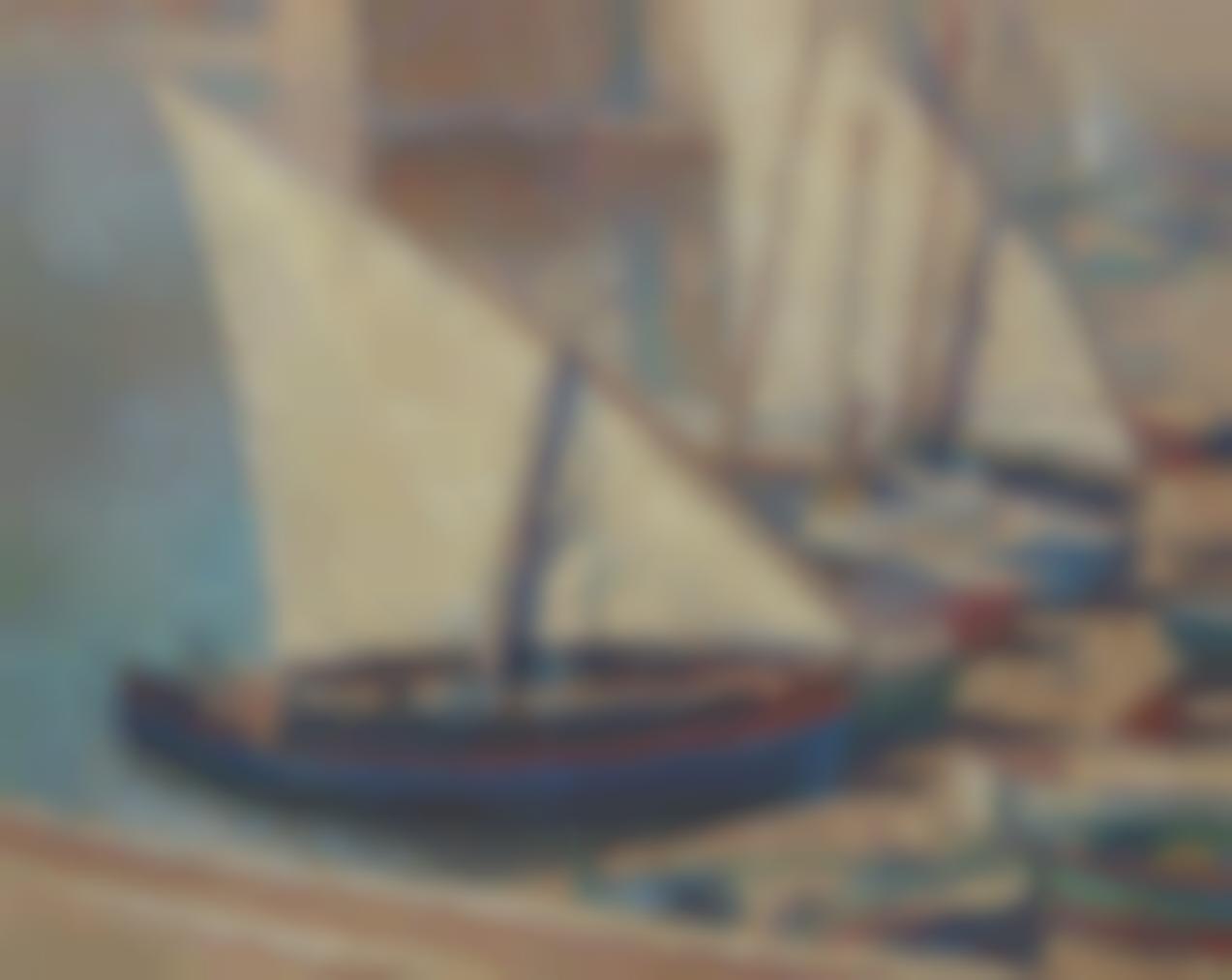 Henri Martin-Voiliers A Collioure-
