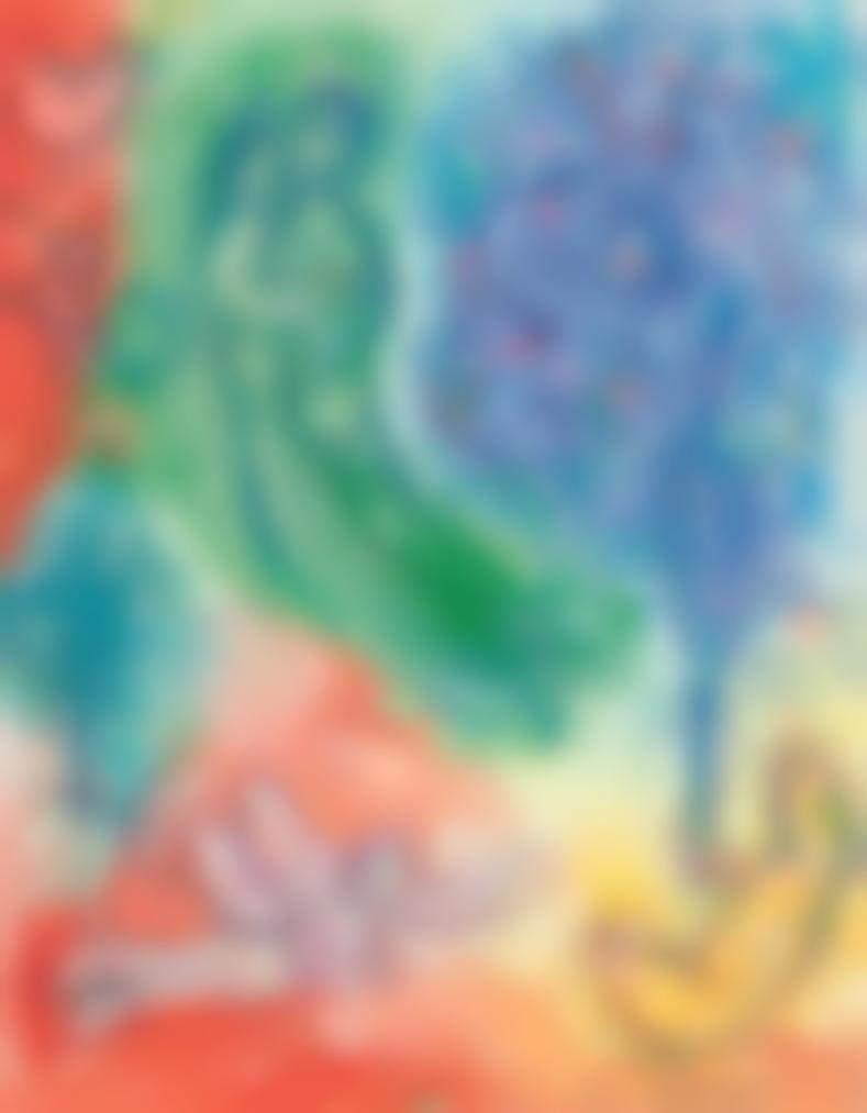 Marc Chagall-Le Jardin Deden-1980