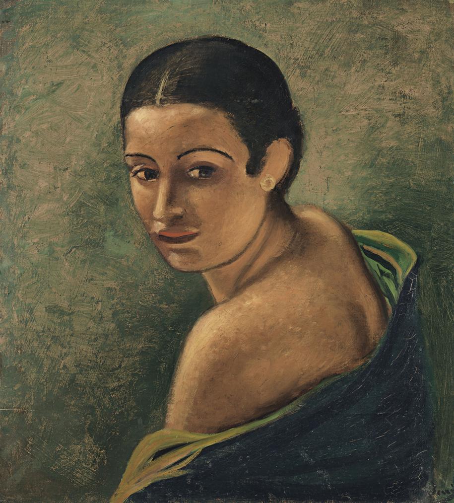 Andre Derain-Tete De Femme-1925
