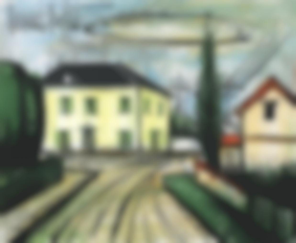 Bernard Buffet-La Maison Jaune-