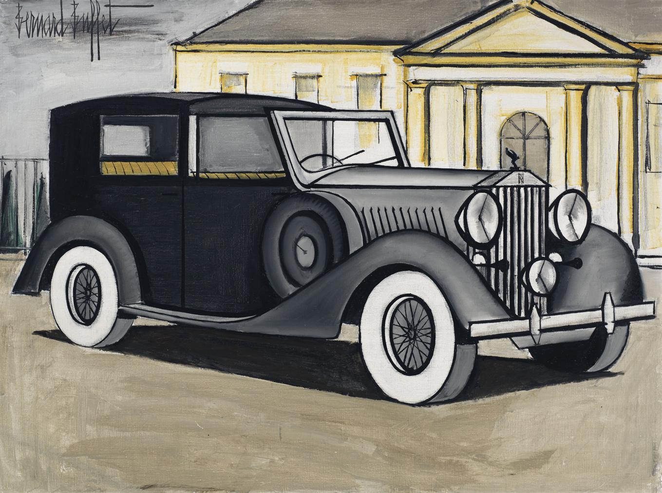 Bernard Buffet-Rolls-Royce 1937 Grise-1984