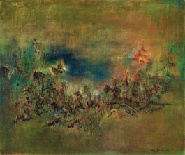 Zao Wou-Ki-Untitled-1957