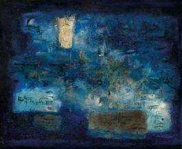 Zao Wou-Ki-Lile (The Island)-1956