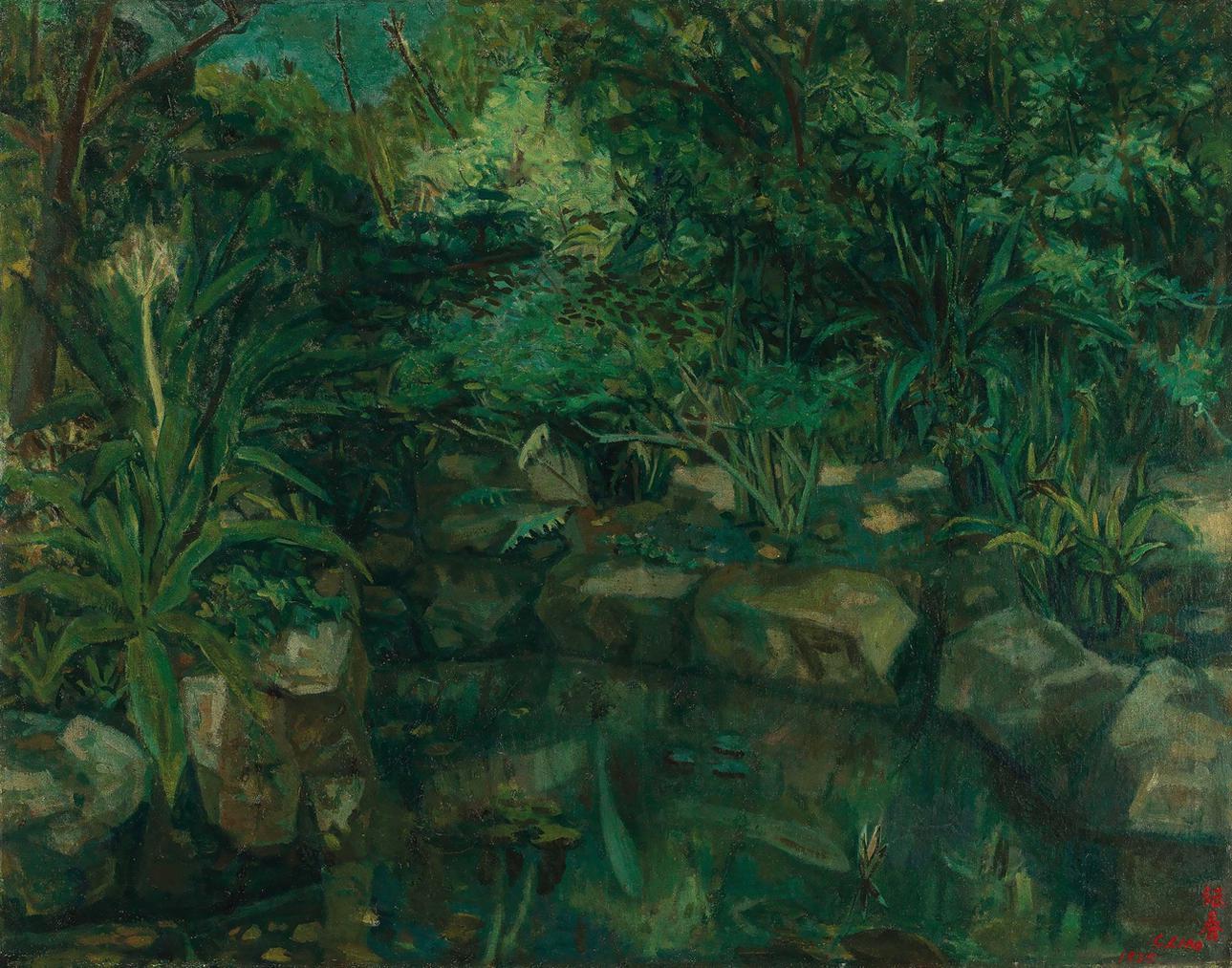 Liao Chi-chun-Tainan Park-1935
