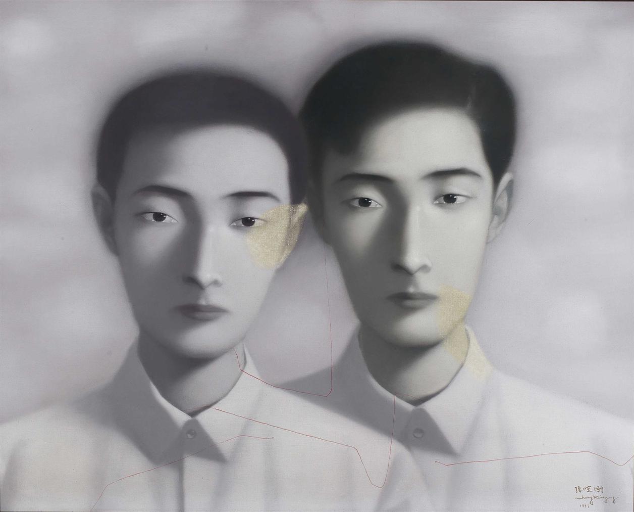 Zhang Xiaogang - Bloodline: Comrade-1997