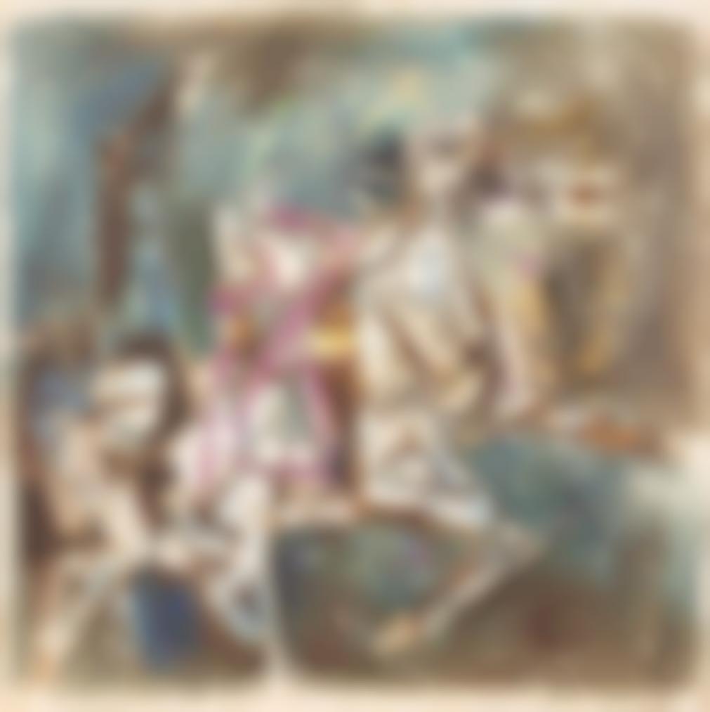 Maqbool Fida Husain-Untitled (Horse)-1980