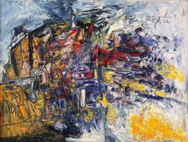 Francis Newton Souza-Untitled (Landscape)-1962