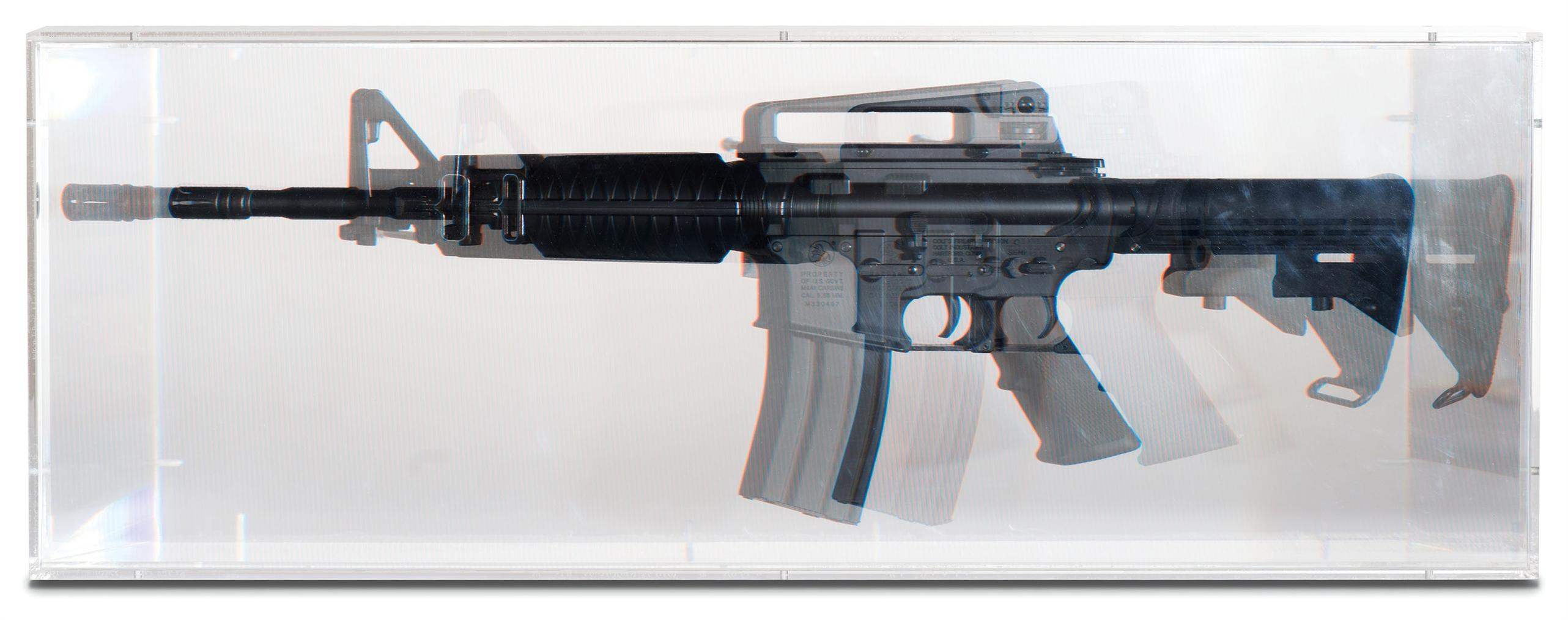 Kohei Nawa-Pixcell: Toy Machine Gun-2007