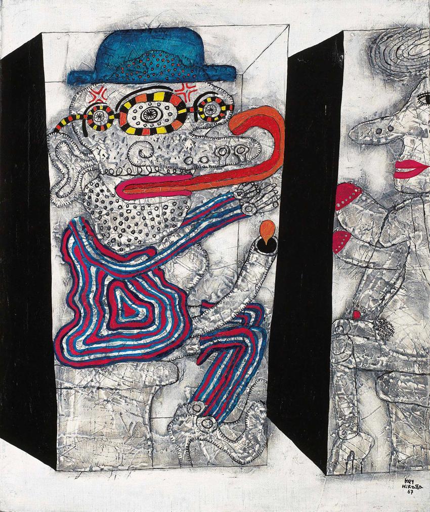 Key Hiraga-Untitled-1967