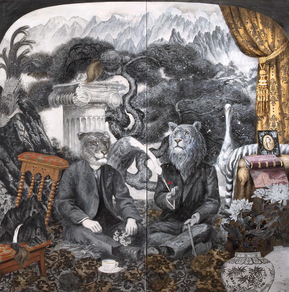 Rhaomi-The Portrait Of Liger And Tigon-2017