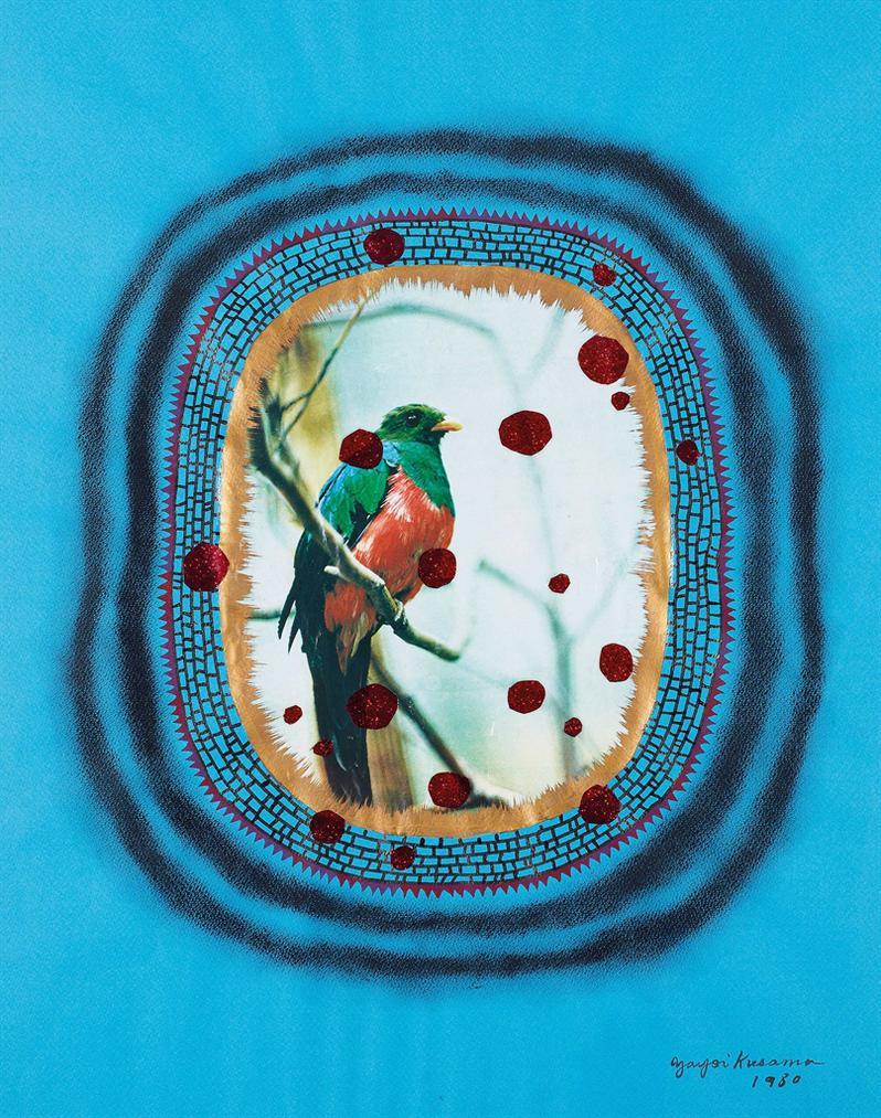 Yayoi Kusama-Bird-1980