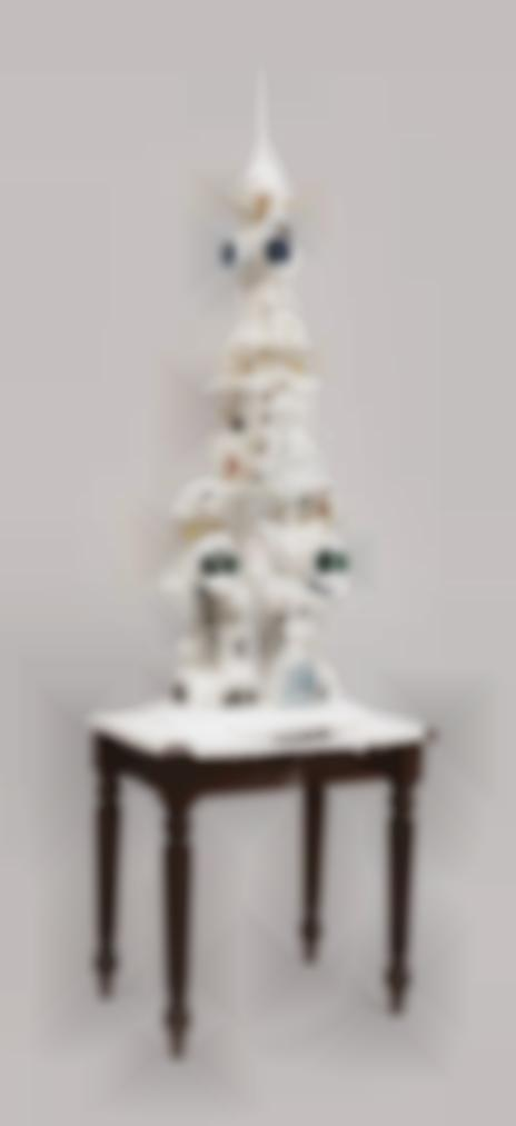 Teppei Kaneuji-White Discharge (Built-Up Objects No. 20)-2012