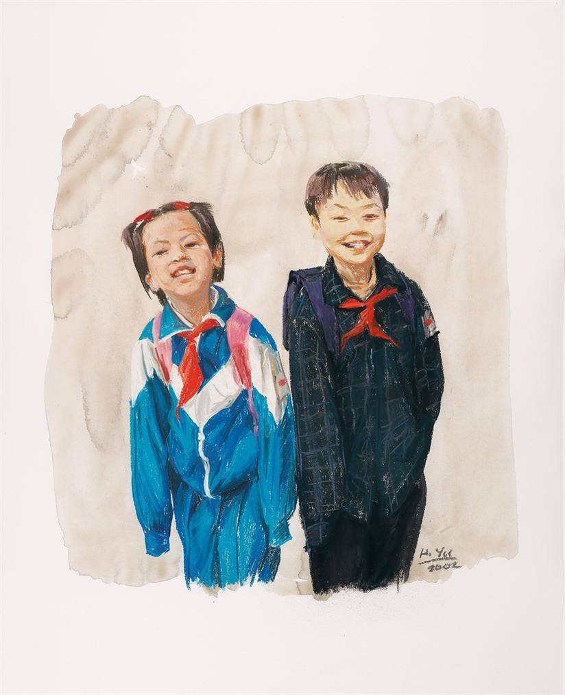Yu Hong-Liu Wa 7 Years Old-2002