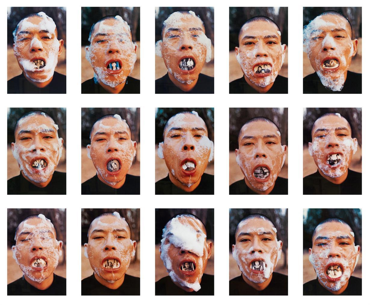 Zhang Wei - Foam series-1998