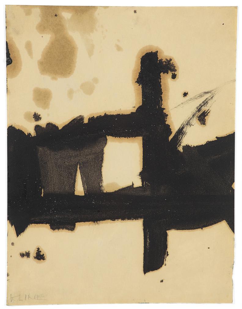 Franz Kline-Composition-