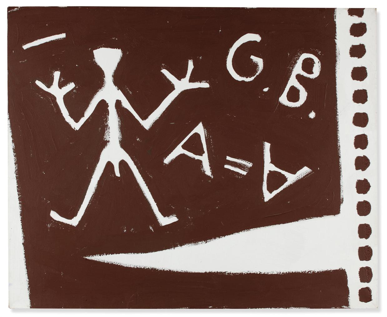 A.R. Penck-Norden 3 (The North 3)-1983