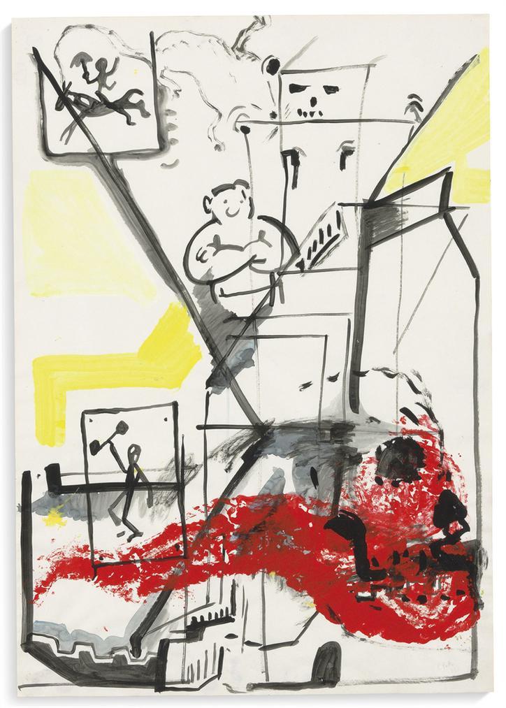 Sigmar Polke-Untitled-1983