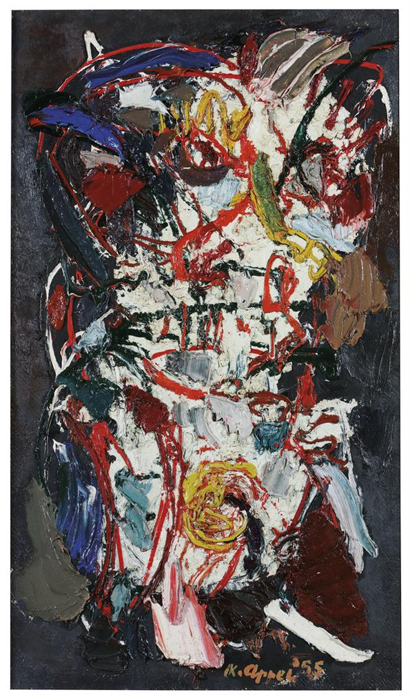 Karel Appel-Lhomme De La Terre (Man Of The Earth)-1955