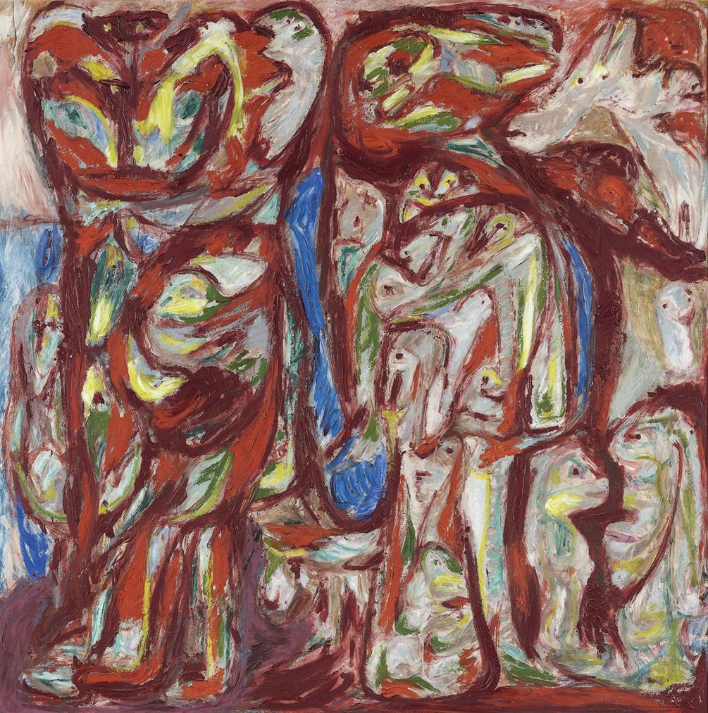 Asger Jorn-Myr Og Mo (Myra And Mo )-1952
